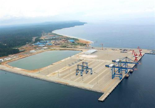 Eximbank Chine prête 415 milliards de FCFA au Cameroun pour démarrer la phase II du port de Kribi
