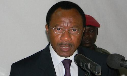 leministre camerounis des Travaux publics, Emmanuel Nganou Djoumessi
