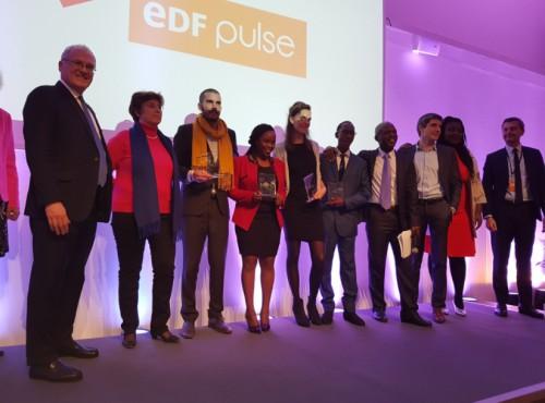 la start up camerounaise eduair laur ate du prix edf pulse africa organis par electricit de. Black Bedroom Furniture Sets. Home Design Ideas