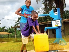 la-fondation-mtn-finance-des-projets-d'adduction-d'eau-dans-10-villages-du-cameroun