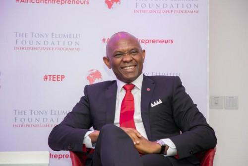 Le Nigérian Tony Elumelu veut accompagner et financer des startups camerounaises