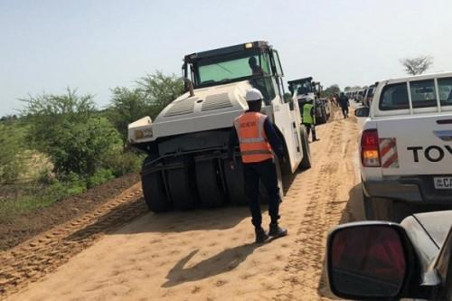 PAC International ouvre 29 postes de travail sur le chantier de la route Mora-Waza, à l'Extrême-Nord du Cameroun