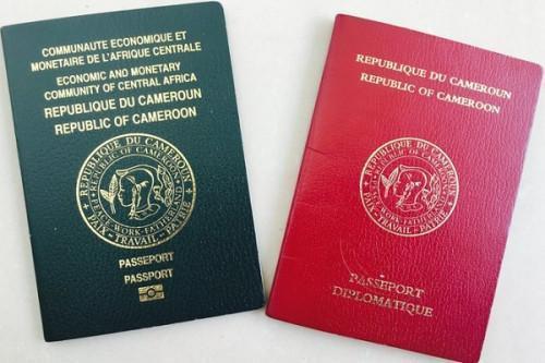 Le Cameroun augmente le coût du timbre du passeport de 75 000 à 110 000 FCFA, dès le 1er juillet 2021