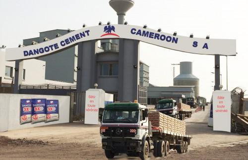 Cameroun: le Nigérian Dangote déclare avoir vendu 332 000 tonnes de ciment au 1er trimestre 2018, en hausse de 9,6%