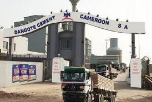 Dangote Cameroun déclare avoir vendu 1,2 million de tonnes de ciment en 2017, en hausse de 14,8%