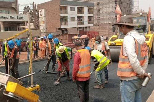 Le constructeur chinois CREC embourbé dans la réhabilitation de l'axe Yaoundé-Bafoussam, deux sites de la CAN 2021