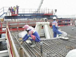sogea-satom-oblige-d-engager-de-nouveaux-travaux-sur-le-2e-pont-sur-le-wouri-inonde-par-les-eaux-de-pluie