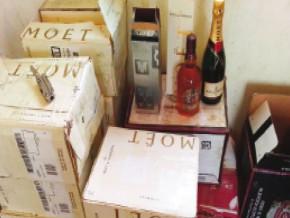 saisie-de-145-cartons-de-vins-et-whiskies-de-contrebande-dans-la-region-du-sud-du-cameroun